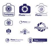 ikony loga fotografii zapas Obrazy Stock