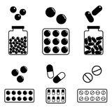 ikony medyczne Zdjęcia Stock