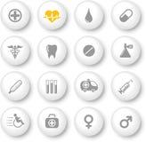 ikony medyczne Zdjęcie Royalty Free