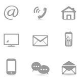 ikony mobilne Zdjęcia Stock