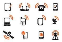 ikony mobilne Obrazy Stock