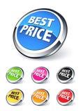 ikony najlepsza cena Zdjęcie Stock