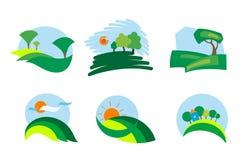 ikony natura royalty ilustracja