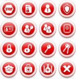 ikony ochrona ilustracja wektor