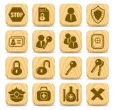 ikony ochrona ilustracji