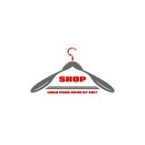Ikony odzieży stojaków sklep Obraz Royalty Free