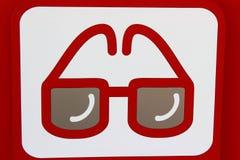 Ikony optometrist Zdjęcia Royalty Free