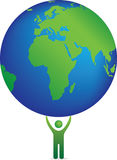 ikony planeta Obrazy Royalty Free