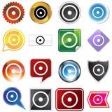 ikony planetarny setu znaka słońce Zdjęcie Stock