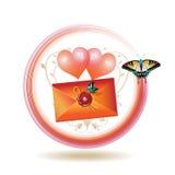 ikony poczta Zdjęcia Royalty Free