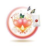 ikony poczta Obrazy Royalty Free