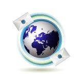 ikony poczta Obraz Stock