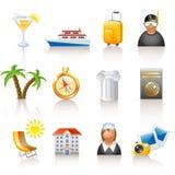 ikony podróż Zdjęcie Royalty Free