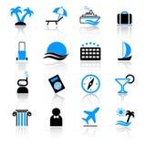 ikony podróż Obraz Stock