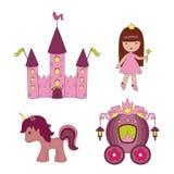 ikony princess Zdjęcie Stock