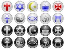 ikony religijne royalty ilustracja