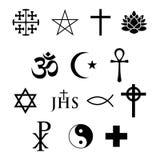 ikony religijne ilustracja wektor
