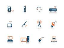 ikony serii sieć ilustracji