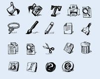 ikony serii toolbox Zdjęcia Stock