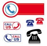 ikony setu telefon ilustracji