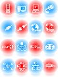 ikony sieć ilustracji