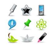 ikony sieć Obraz Stock