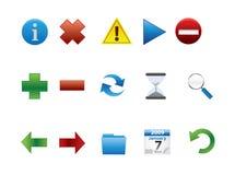 ikony sieć Zdjęcia Stock