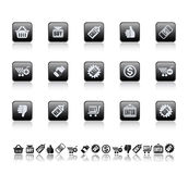 ikony sprzedaż Fotografia Royalty Free