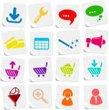 ikony strona internetowa ilustracji
