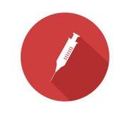 Ikony strzykawka ilustrująca Zdjęcie Stock