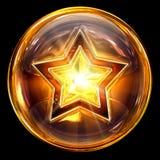 ikony szklana gwiazda ilustracji
