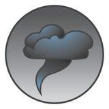 ikony tornado Zdjęcia Stock