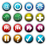 ikony ustawiać royalty ilustracja
