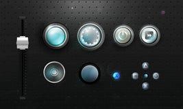 ikony ustawiać Zdjęcie Stock