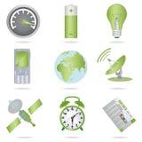ikony ustawiać Fotografia Stock