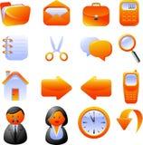 ikony ustawiają Fotografia Royalty Free