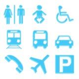 ikony ustawiają podróż Fotografia Stock