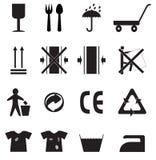 ikony ustawiają prostego obrazy stock