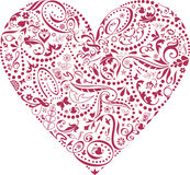 ikony valentine Obrazy Royalty Free