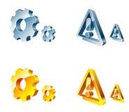 ikony vector sieć Zdjęcie Royalty Free