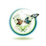ikony wiosna Obrazy Royalty Free