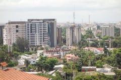 Ikoyi Lagos Nigeria. African super metropolis Royalty Free Stock Images