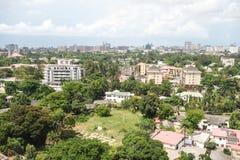 Ikoyi Lagos Nigeria. African super metropolis Royalty Free Stock Photos