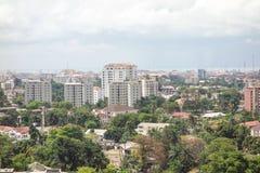 Ikoyi Lagos Nigeria. African super metropolis Royalty Free Stock Photography
