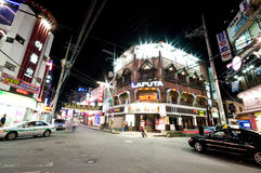 Iksan (South Korea) at night Stock Image