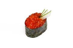 Ikura del sushi Imágenes de archivo libres de regalías