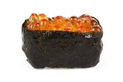 Ikura (fish egg) Sushi Stock Photo