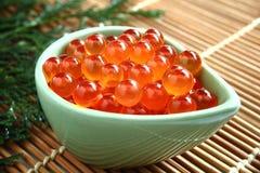 Salmon caviar, Ikura Royalty Free Stock Image