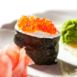 Ikura Sushi Stock Photography