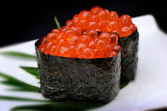 Ikura sushi Royalty Free Stock Photography
